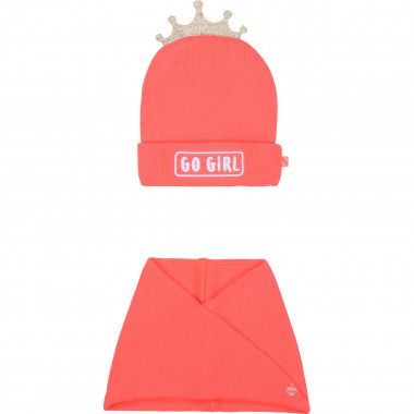 Hat and snood set BILLIEBLUSH for GIRL