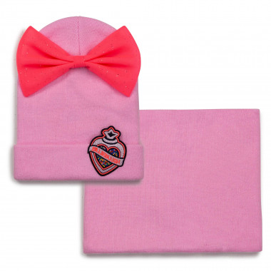Beanie and snood set BILLIEBLUSH for GIRL