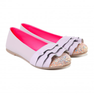 Leather ballerina flats BILLIEBLUSH for GIRL