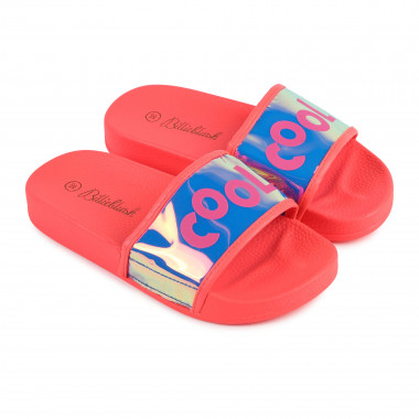 Metallic flip-flops BILLIEBLUSH for GIRL