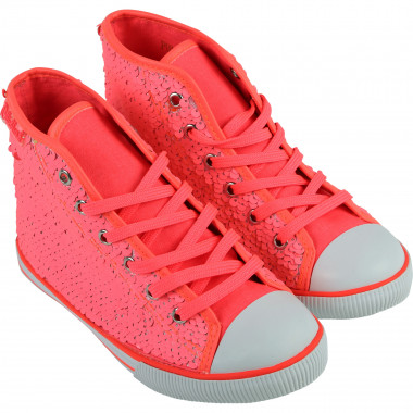 Sequined high-top trainers BILLIEBLUSH for GIRL