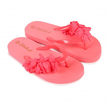 Flowered flip-flops and bag BILLIEBLUSH for GIRL