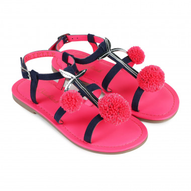 Suede sandals with patch BILLIEBLUSH for GIRL