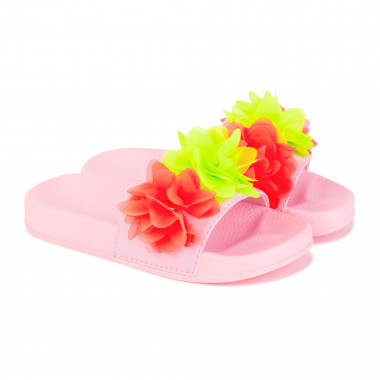 Flip-flops with tulle flowers BILLIEBLUSH for GIRL