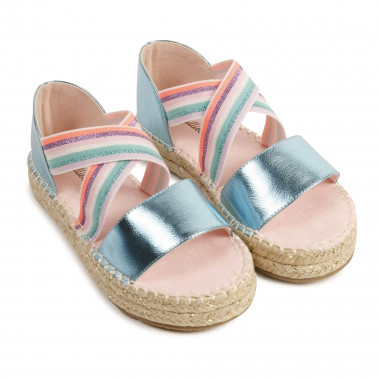Wedge-heeled sandals BILLIEBLUSH for GIRL
