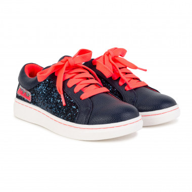 Low-top laced glitter trainers BILLIEBLUSH for GIRL