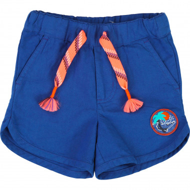 Canvas shorts with drawstrings BILLYBANDIT for BOY