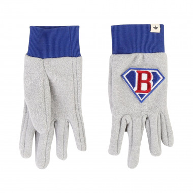 Gloves with embroidery detail  for