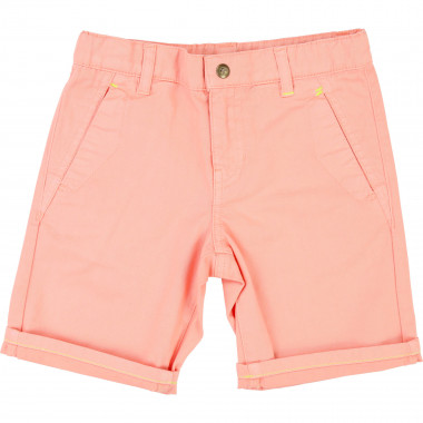 Chino shorts with rolled hem BILLYBANDIT for BOY