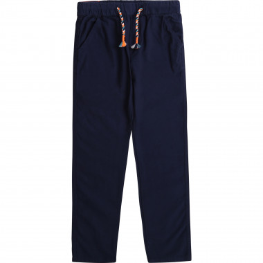 Cotton canvas trousers BILLYBANDIT for BOY