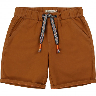Cotton canvas shorts BILLYBANDIT for BOY