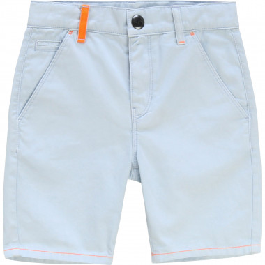 Cotton twill chino shorts BILLYBANDIT for BOY