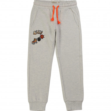 Fleece trousers with patches BILLYBANDIT for BOY