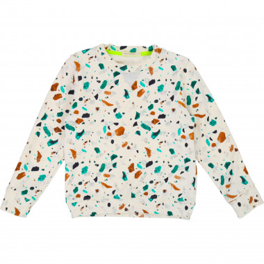 Cotton fleece print sweatshirt BILLYBANDIT for BOY