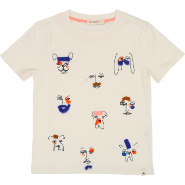 Short-sleeved image T-shirt BILLYBANDIT for BOY