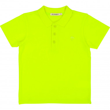 Cotton piqué polo shirt BILLYBANDIT for BOY
