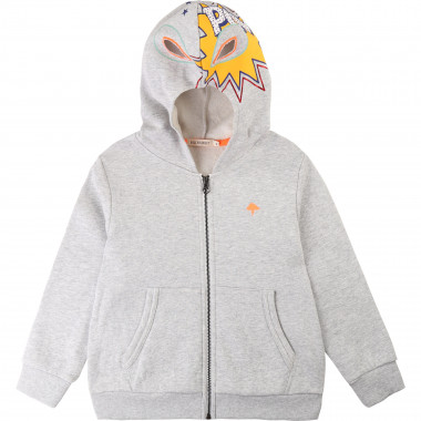 Cotton cardigan with hood BILLYBANDIT for BOY