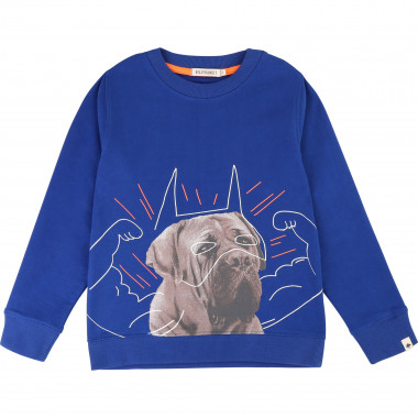 Fleece sweatshirt with print BILLYBANDIT for BOY