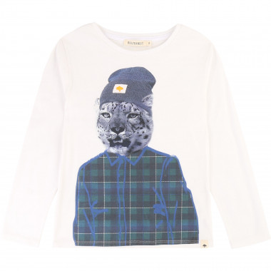 Illustrated cotton t-shirt BILLYBANDIT for BOY