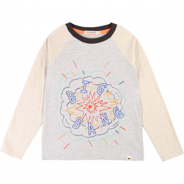 Raglan-sleeved cotton t-shirt BILLYBANDIT for BOY