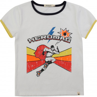 Ribbed cotton T-shirt BILLYBANDIT for BOY