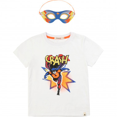 Superhero T-shirt and mask BILLYBANDIT for BOY