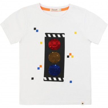 T-shirt with sequins BILLYBANDIT for BOY