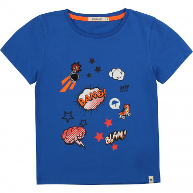 Short-sleeved cotton T-shirt BILLYBANDIT for BOY