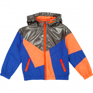 Waterproof hooded windbreaker  for