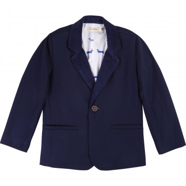 Twill suit jacket BILLYBANDIT for BOY