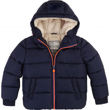 Waterproof hooded puffer BILLYBANDIT for BOY
