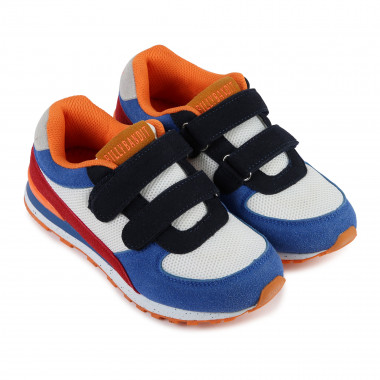 Multicoloured leather trainers  for