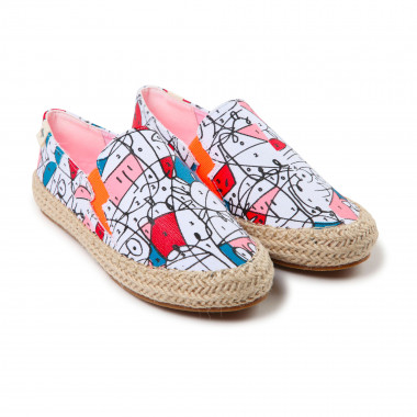 Colourable espadrilles BILLYBANDIT for BOY