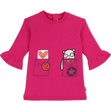 Brushed fleece dress THE MARC JACOBS for GIRL
