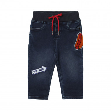 Denim trousers with patches THE MARC JACOBS for BOY