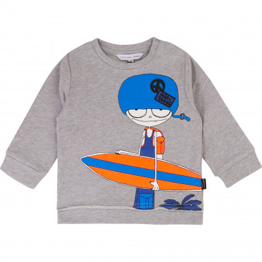 Fleece sweatshirt LITTLE MARC JACOBS for BOY