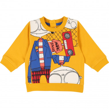 Brushed fleece sweatshirt LITTLE MARC JACOBS for BOY