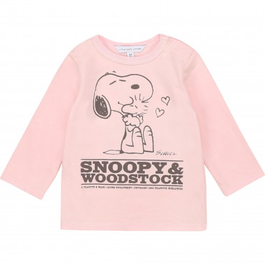 Long-sleeved cotton T-shirt THE MARC JACOBS for GIRL