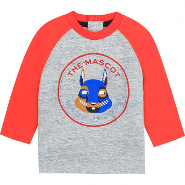 Contrasting sleeve T-shirt THE MARC JACOBS for BOY