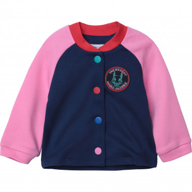 Colour block cotton bomber THE MARC JACOBS for GIRL
