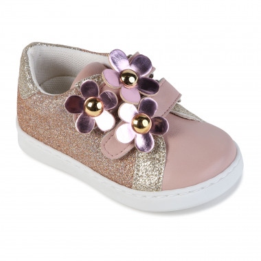 Sequined Velcro trainers THE MARC JACOBS for GIRL