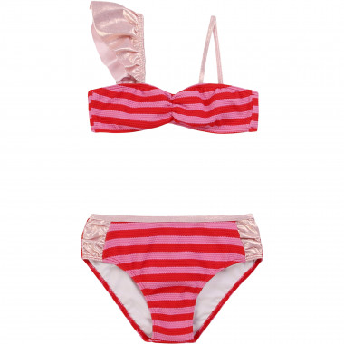 Striped 2-piece bathing suit LITTLE MARC JACOBS for GIRL