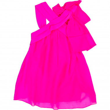 Strappy dress with bow LITTLE MARC JACOBS for GIRL