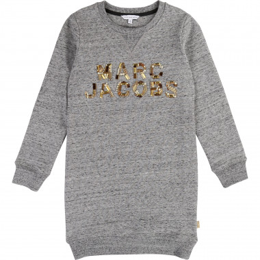 Beaded brushed cotton dress LITTLE MARC JACOBS for GIRL
