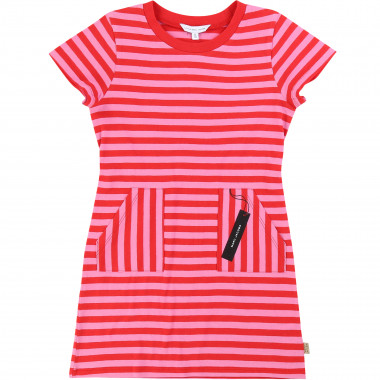 Striped dress with pockets LITTLE MARC JACOBS for GIRL