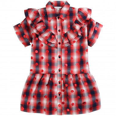 Checked cotton dress THE MARC JACOBS for GIRL