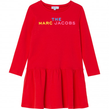 Printed cotton dress THE MARC JACOBS for GIRL