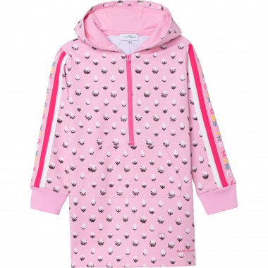Zip collar hooded dress THE MARC JACOBS for GIRL