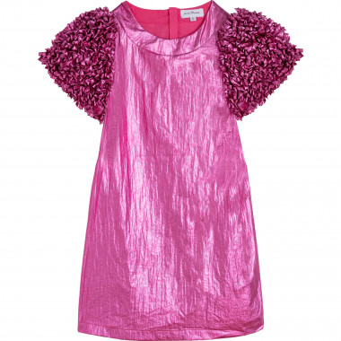 Crinkled lamé dress THE MARC JACOBS for GIRL