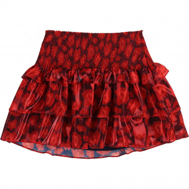 Ruffled printed voile skirt LITTLE MARC JACOBS for GIRL
